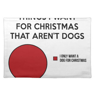 Christmas Dog Placemat