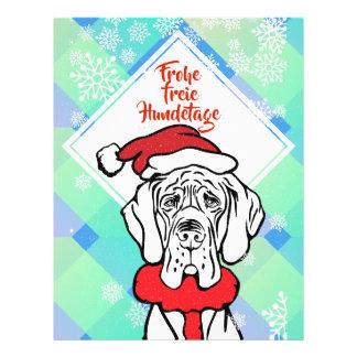 Christmas Dog Wandering Flyer