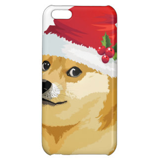 Christmas doge - santa doge - christmas dog iPhone 5C covers
