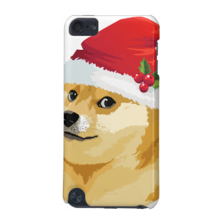 Christmas doge - santa doge - christmas dog iPod touch (5th generation) cases