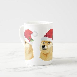 Christmas doge - santa doge - christmas dog tea cup