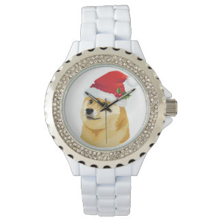 Christmas doge - santa doge - christmas dog watch