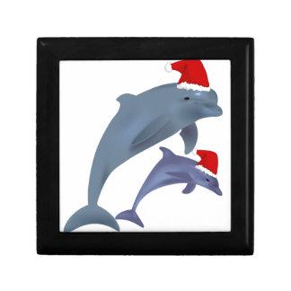 Christmas Dolphin Gift Box