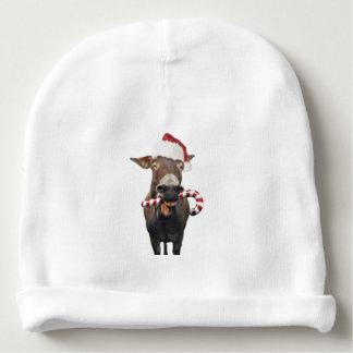 Christmas donkey - santa donkey - donkey santa baby beanie