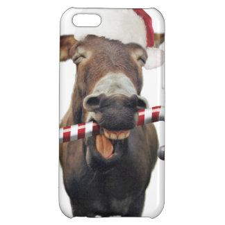 Christmas donkey - santa donkey - donkey santa iPhone 5C case
