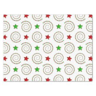 Christmas doodle pattern tissue paper