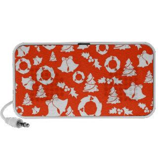 Christmas Doodle Portable Speaker