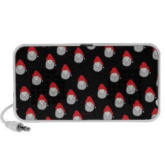 Christmas Doodle iPod Speakers