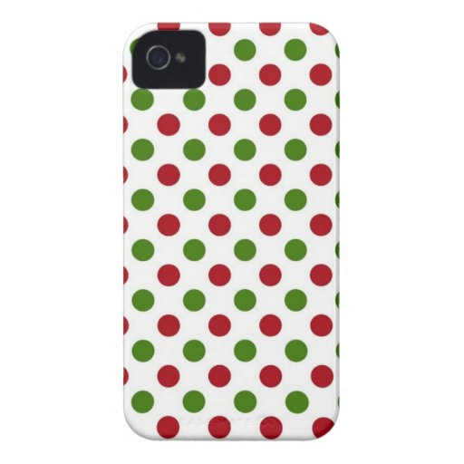 Christmas Dots BlackBerry Bold Case Mate Cover