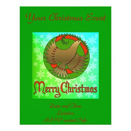 Christmas Dove Flyer