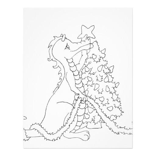 Christmas Dragon 2 Full Color Flyer