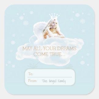 Christmas Dream Angel Stickers