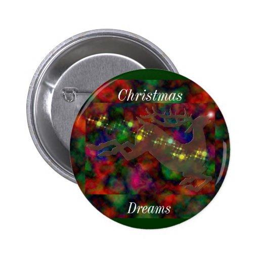 Christmas Dreams Button