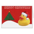 Christmas Duck Christmas Card