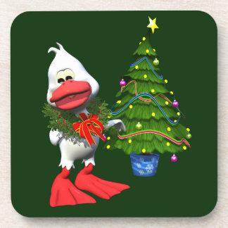 Christmas Duck Coasters
