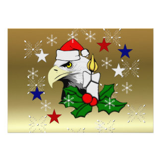 Christmas Eagle Personalized Announcement