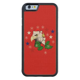 Christmas Eagle Maple iPhone 6 Bumper Case