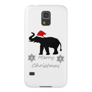 Christmas Elephant Case For Galaxy S5