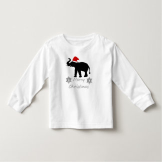 Christmas Elephant Toddler T-Shirt