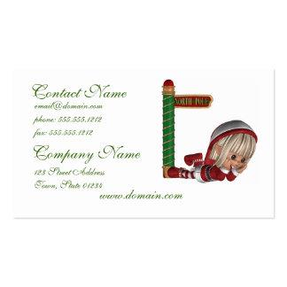 Christmas Elf Business Cards