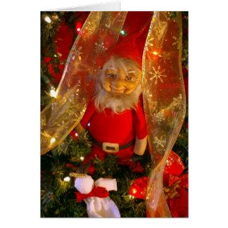 Christmas Elf Greeting Card