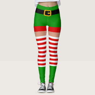 Christmas elf costume Leggings