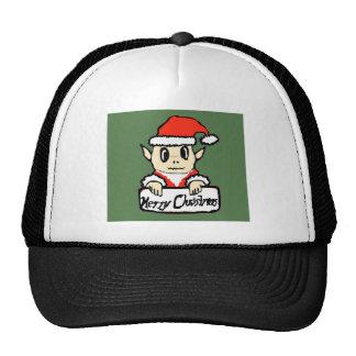 Christmas elf trucker hats