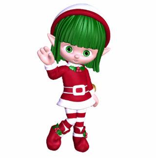 Christmas Elf Standing Photo Sculpture
