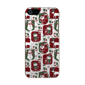 Christmas Elves & Snowmen Incipio Feather® Shine iPhone 5 Case