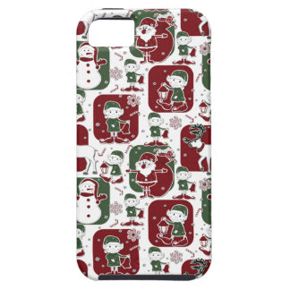 Christmas Elves & Snowmen iPhone 5 Case