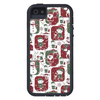 Christmas Elves & Snowmen iPhone 5 Cover