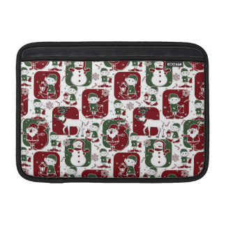 Christmas Elves & Snowmen MacBook Sleeve