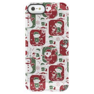 Christmas Elves & Snowmen Permafrost® iPhone SE/5/5s Case