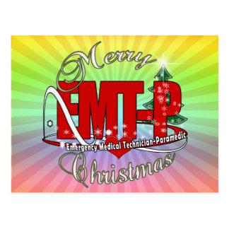 Paramedic Christmas Gifts T Shirts Art Posters & Other #1: christmas emt p emergency medical tech paramedic postcard rdeccb4122a7d4cbb bb vgbaq 8byvr 324