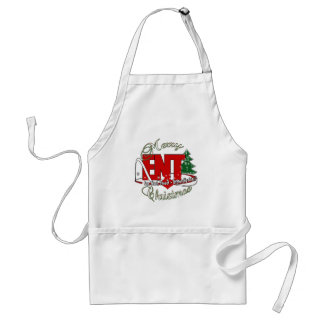 CHRISTMAS ENT DOCTOR EAR NOSE THROAT APRONS