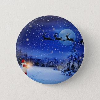 Christmas-Eve 6 Cm Round Badge