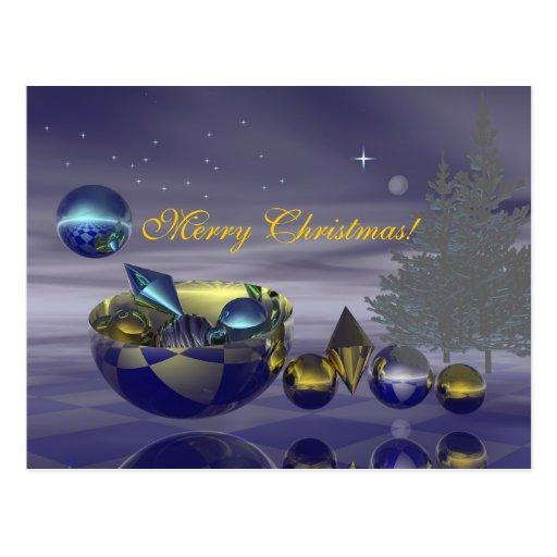 Christmas Eve card Postcard