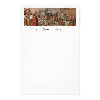 Christmas Eve Julaftonen Stationery
