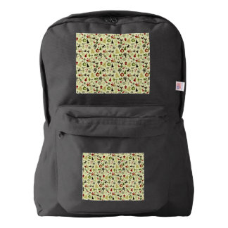 Christmas Eve Pattern Backpack