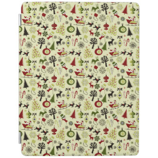 Christmas Eve Pattern iPad Cover