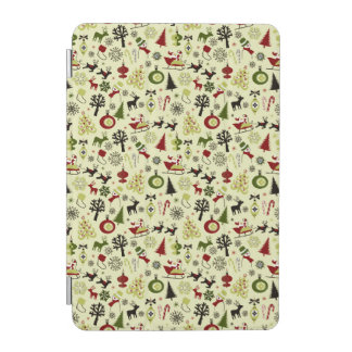 Christmas Eve Pattern iPad Mini Cover