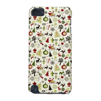 Christmas Eve Pattern iPod Touch (5th Generation) Case