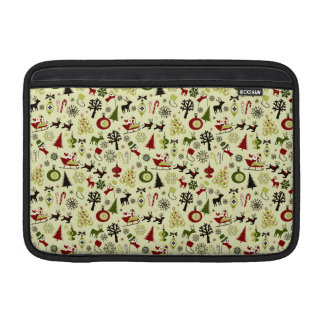 Christmas Eve Pattern Sleeve For MacBook Air