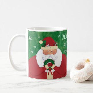 Christmas Eve Santa Coffee Mug