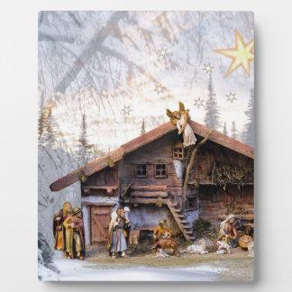 Christmas eve story decoration house plaque