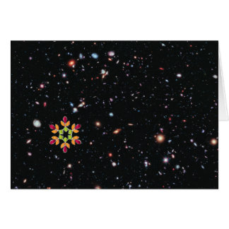 Christmas eXtreme Deep Field Card