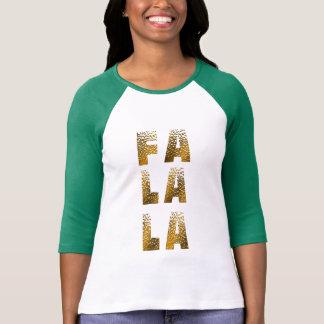 christmas fa la la t-shirt design xmas carols