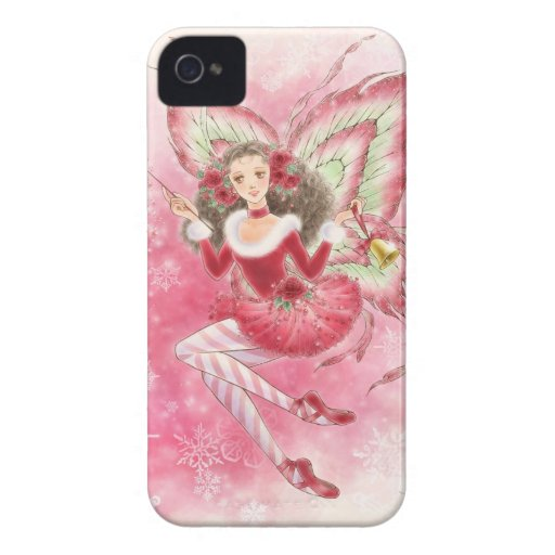 Christmas Fairy BlackBerry Bold Case iPhone 4 Covers