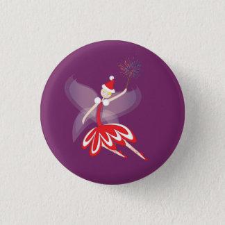 Christmas Fairy Button