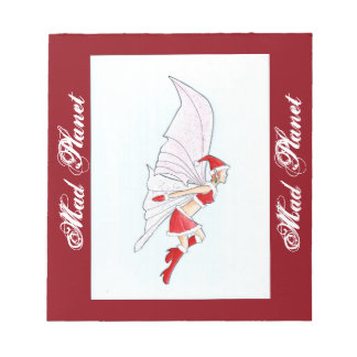 Christmas Fairy Notepad